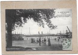 SAINT NAZAIRE - 44 - Panorama Du Vieux Bassin Départ D'un Paquebot - LYO87 - - Saint Nazaire
