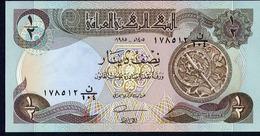 IRAQ : 1/2 Dinar - P68 -  1985 - UNC - Iraq