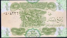 IRAQ : 1/4 Dinar - P77a -  1993 - UNC - Iraq
