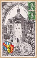 Nw4846 GENEVE Tour De L' ILE Philippe BERTHELIER Par BOURQUIN 1913 à BOHLER Vins En Gros Rue Loubon Marseille - GE Geneva