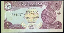 IRAQ : 1/2 Dinar - P78a -  1993- UNC - Iraq