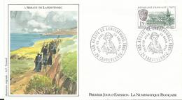1er Jour   1985  Abbaye  De Landevennec 29 - France