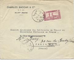 LETTRE 1940 POUR LA FRANCE. - Syria