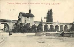 -dpts Div.-ref-AD204- Côte D Or - Beaune - Viaduc Faubourg Perpreuil - 1er Construit Sur Ligne De Chemin De Fer P.l.m.- - Beaune