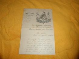 LETTRE ANCIENNE DE 1894. / ARMEE FRANCAISE 2e CORPS D'ARMEE, 3e DIVISION, 6e BRIGADE. / 51e REGIMENT D'INFANTERIE 1er BA - Documents