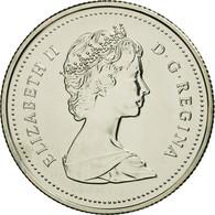 Monnaie, Canada, Elizabeth II, 25 Cents, 1987, Royal Canadian Mint, Ottawa, FDC - Canada