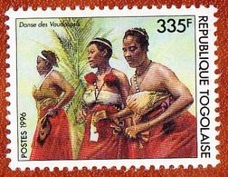 Togo, Danse De La Vaudossais 335F, 1996 Mint NH - Danse