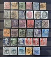 Deutschland Sammlung Mit Alt Briefmarken - Timbres