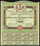AL001 Societe Anglo-Algerienne. - Zonder Classificatie