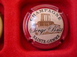 *  Capsule De Champagne  POROT Serge  N° 1 * - Capsules