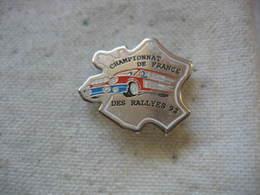 Pin's Courses, Rallyes Automobiles: Championnat De France Des Rallyes 92 - Rallye