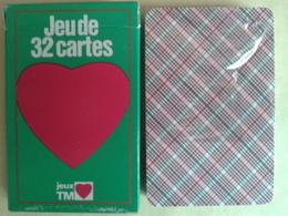 Jeux TM. Jeu De 32 Cartes. Neuf Sous Blister. Boite Carton - Playing Cards (classic)