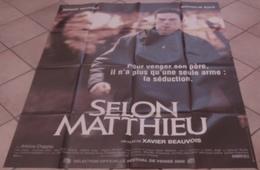 AFFICHE CINEMA ORIGINALE FILM SELON MATTHIEU MAGIMEL BAYE Xavier BEAUVOIS 2001 TBE - Posters