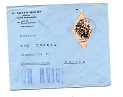 Lettre Cachet Bissau Sur Serpent - Guinea (1958-...)