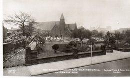 Ellesmere Port - The Parish Church And War Memorial - Angleterre