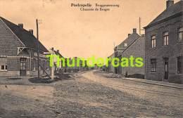CPA POELCAPELLE BRUGGESTEENWEG CHAUSSEE DE BRUGES - Langemark-Poelkapelle