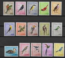 VENEZUELA - YVERT N° 660/666 + AERIEN 769/776 * MLH - COTE = 42.5 EUR. - OISEAUX - Venezuela