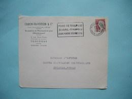 ENVELOPPE PUBLICITAIRE  -  CHIRON TRAVERSON  -  Accessoire Pharmacie - Rue Jean Suau  -  TOULOUSE  -  31    -  1964  - - Marcophilie (Lettres)