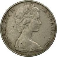 Monnaie, Australie, Elizabeth II, 20 Cents, 1966, TB, Copper-nickel, KM:66 - Monnaie Décimale (1966-...)