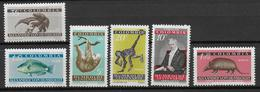 COLOMBIA - YVERT N° 576/578 + AERIEN 348/350 ** MNH - COTE = 11.5 EUR. - ANIMAUX - Colombie