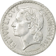 Monnaie, France, Lavrillier, 5 Francs, 1949, Beaumont - Le Roger, TB+ - France