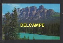 DF / CANADA / ALBERTA / BANFF PARK / MONT EISENHOWER ET BOW RIVER / CIRCULÉE EN 1959 - Banff