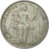 Monnaie, French Polynesia, 5 Francs, 1987, Paris, TB, Aluminium, KM:12 - French Polynesia