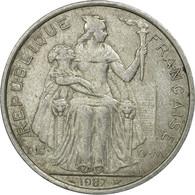 Monnaie, French Polynesia, 5 Francs, 1987, Paris, TB, Aluminium, KM:12 - Polynésie Française
