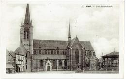 GEEL - Sint Amandskerk - Taksstempel - Cachet De Taxe - Geel