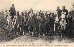 GUERRE 1914- 1918  WW1  Convoi De Soldats Allemands Faits Prisonniers à Dixmude   ... - Guerre 1914-18