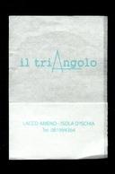 Tovagliolino Da Caffè - Bar Triangolo - ( Ischia ) - Serviettes Publicitaires