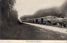 GUERRE 1914- 1918  WW1  Nos Autobus En Campagne  ... - Guerre 1914-18