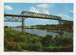 BRIDGE - AK 333837 Nord-Ostsee-Kanal Mit Hochbrücke - Puentes