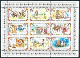 1980 Tristan Da Cunha Natale Christmas Noel Infanzia Childhood Enfance MNH** BL5 - Tristan Da Cunha