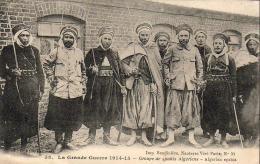 GUERRE 1914- 1918  WW1  Groupe De Spahis Algériens  ... - Guerre 1914-18