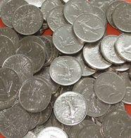 France Bulk Lot Of 65x 5 Franc Coins - Coins & Banknotes