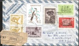 J) 1965 ARGENTINA, BIRD CALANDRIA, PUMA, TREE, FREE TEACHING FOR ALL LAW 1420, BASE OF GENERAL ARMY BELGRANO ANTARTIDA A - Argentina