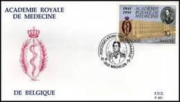 "BELG.1991 2416 - FDC - ""Académie De Médecine"" - 1991-00"