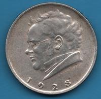 ÖSTERREICH 2 SHILLING 1928 KM# 2843 Franz Schubert Argent 640‰ Silver - Austria