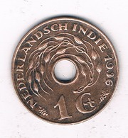 1 CENT 1936 NEDERLANDS INDIE /6713/ - [ 4] Colonies
