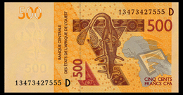 WEST AFRICAN STATES 500 FRANCS 2012/13 MALI Pick 419Db Unc - Stati Dell'Africa Occidentale