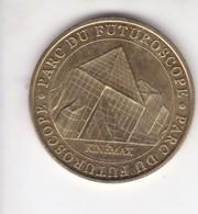 Jeton Médaille Monnaie De Paris MDp Parc Du Futuroscope Kinemax 2007 - Monnaie De Paris