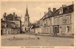 BONNETABLE   Place Saint étienne - Bonnetable