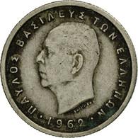 Monnaie, Grèce, Paul I, 50 Lepta, 1962, TB+, Copper-nickel, KM:80 - Greece