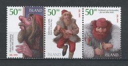 ISLANDE 1999 N° 877M/877P ** Neufs MNH Superbes C 7,50 € Noël Christmas Bonshommes De Neige Mendiant Crochet - Ongebruikt