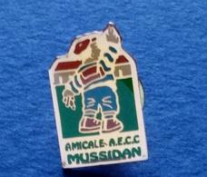 PIN'S AMICALE A.E.C.C MUSSIDAN  DORDOGNE - Boats