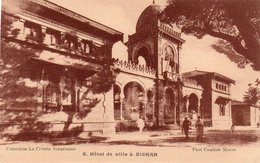 HOTEL DE VILLE A BISKRA-NON VIAGGIATA - Biskra
