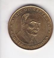 Jeton Médaille Monnaie De Paris MDp Musée Du Septennat 2002 Château Chinon Mitterrand - 2002
