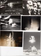 Lune 29 Photos Noir Et Blanc Vols Apollo Années 1969 - 1970 - Photos