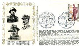Bureau Temporaire Clermont Ferrand Du 25 & 26 Octobre 1986 - Hommage à La Résistance Héros Et Martyrs - X 657 - Guerre Mondiale (Seconde)